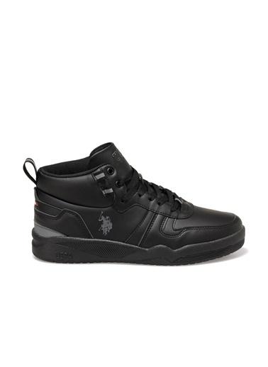 U.S. Polo Assn. Patrick Erkek Sneaker Ayakkabı Siyah